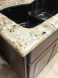 our beautiful river white granite countertops from thrifty decor