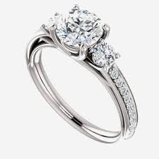 engagement rings that look real cubic zirconia engagement rings that look real uk archives team