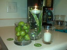 Apple Centerpiece Ideas by Fall Wedding Decorations With Red And Green Apples Trial 1 Diy