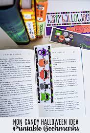 halloween bookmarks free printable holidays thirty handmade days