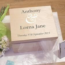 wedding keepsake box personalised wooden wedding memory keepsake box