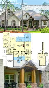brick house plans modern ranch basement with wrap around porches