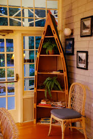 Canoe Bookcase Furniture Canoe Bookshelf On The Porch At Lake Crescent Lodge Olymp U2026 Flickr
