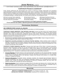 Resume Objective Financial Analyst Financial Resume Examples Sample Cv Of Financial Analyst Resume