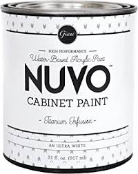 can you spray nuvo cabinet paint nuvo cabinet paint titanium infusion quart