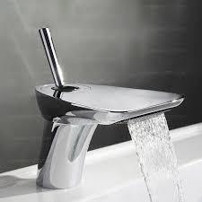 best waterfall bathroom waterfall faucet silver 148 99