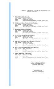3 dokumen pengadaan cleaning service spk induk 2014