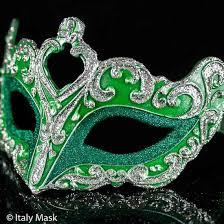 masqurade mask venetian masquerade mask colombina vin blue silver