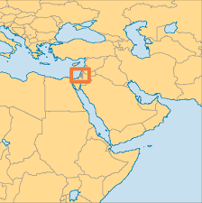 Map Of Palestine Palestine Operation World