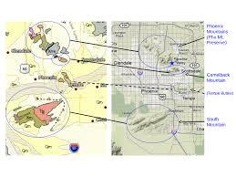 Phx Map Phoenix Geology