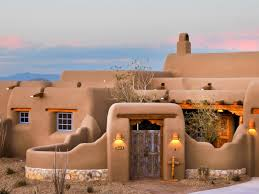 Spanish Home Plans Original Classic New Mexico Homes Spanish Home Exterior Blue