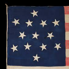 Garrison Flag Size Jeff Bridgman Antique Flags And Painted Furniture Entirely Hand