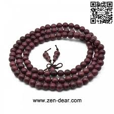natural beads bracelet images Zen dear unisex natural violet wood japa mala beads bracelet jpg