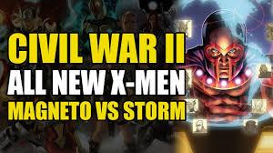 x men vs x men civil war 2 x men youtube