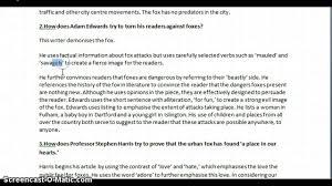 writing english papers wjec gcse english reading paper may 2012 youtube