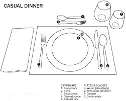 Formal Dining Table Setting Fresh Setting A Table For Dinner Erjkn Fhzzfs Com