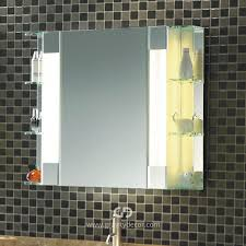 the fairway mid century modern bathroom mirrored cabinet with