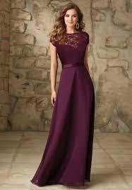 plum wedding dresses wedding dress grape chiffon plus size modest plum bridesmaid
