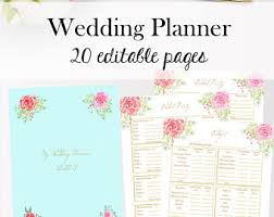 downloadable wedding planner wedding planner downloadable wedding planner book pdf