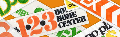 the home depot before the orange sign building the home depot brand