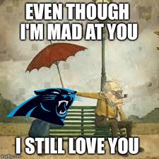 Im Mad At You Meme - carolina panthers imgflip
