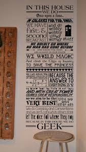 in this house we do love quote wall decal best home 2 images on