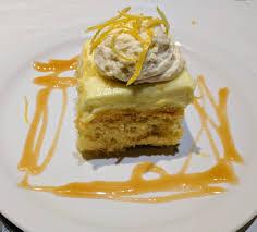 file lemon cake at italian restaurant jpg wikimedia commons