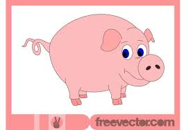 pig free vector art 1872 free downloads