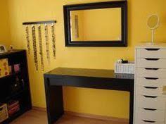 Hair And Makeup Storage Diy Makeup Vanity Table Tutorial Using Parts From Ikea Vanity