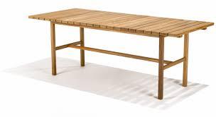 teak trestle dining table the gardenista 100 teak dining tables teak trestle tables and