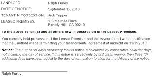 oregon 60 day termination notice no cause ez landlord forms