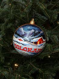 ornaments representing colorado