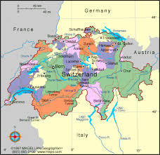 swiss map canton map