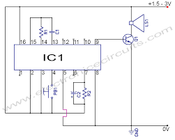 musical doorbell circuit diagram electronic circuits