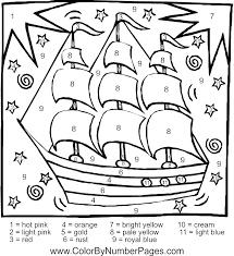 coloring pages disney color by number pages difficult color by