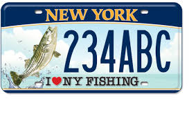 Dmv Vanity Plate Nys I Love Ny Adventure Plates Gallery New York State Of