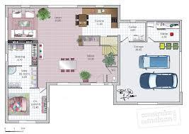 cuisine fonctionnelle plan ordinary cuisine en longueur ouverte 15 maison moderne et