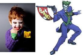Joker Halloween Costume Kids 13 Adorably Disturbing Kids Costumes Big Fish Blog