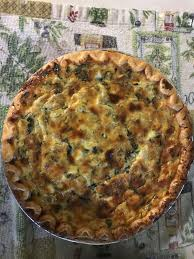 spinach artichoke quiche recipe genius kitchen