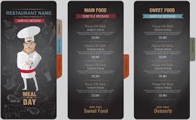drink menu background design free vector download 44 961 free
