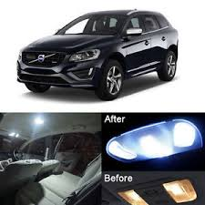 volvo xc60 2015 interior xenon white led interior light kit package for volvo xc60 2009 2015