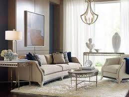 wood trim sofa alena designer u0027s art deco wood trim gray fabric sofa couch chair