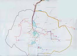 Bangalore Metro Map Phase 3 by Christ University