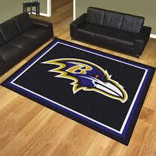 ravens plush area rug nylon 8 u0027 x 10 u0027