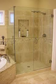 frameless with door buttress panel and return panel frameless