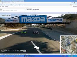google mazda laguna seca on google maps u0027 street view motorcycle usa