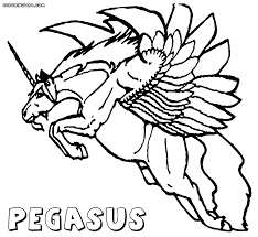 pegasus coloring pages coloring pages to download and print