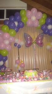 50th birthday flowers and balloons fairys butterflies birthday party ideas flower balloons arch and