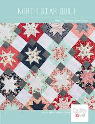 pattern art pdf north star pdf quilt pattern digital download quilty love