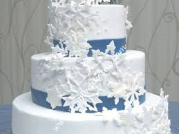 snow flake wedding cake cakecentral com